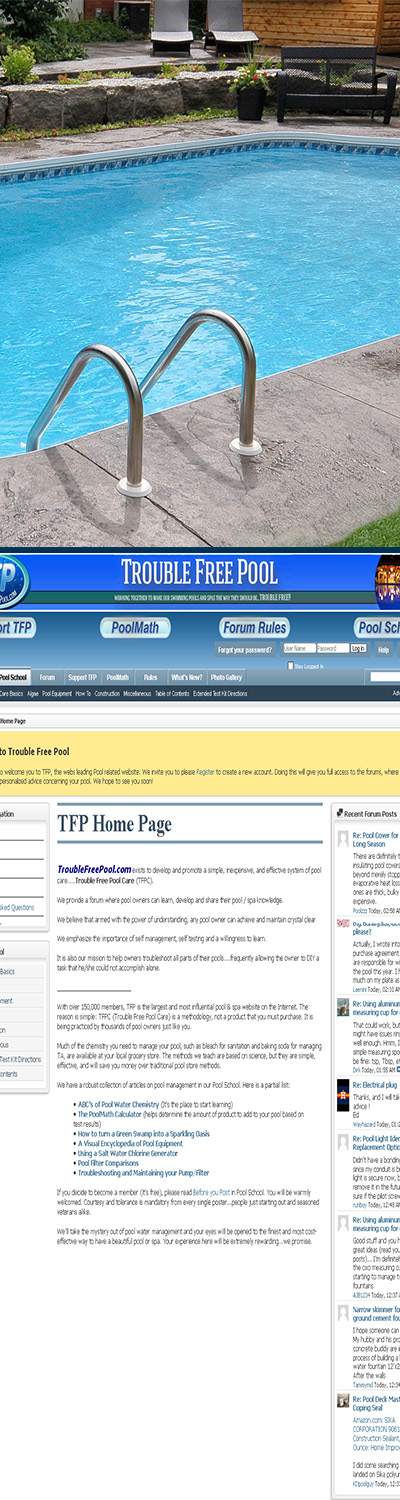 Trouble Free Pool